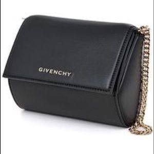 SOLD! Givenchy Pandora Box Micro w Chain